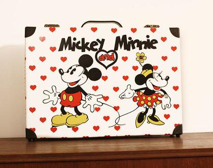 מזוודת וינטאג׳ מיקי ומיני, מזוודת דיסני, מזוודה לאספנים