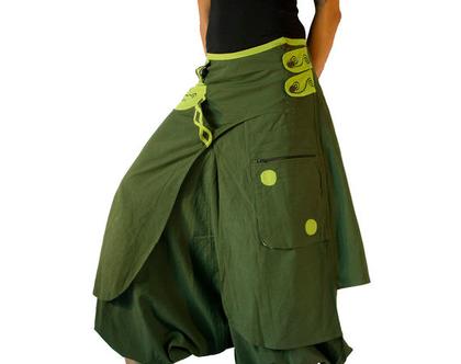 מכנס חצאית אלאדין - ירוק