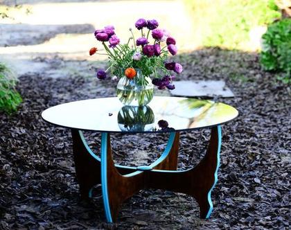 שולחן סלון 70s