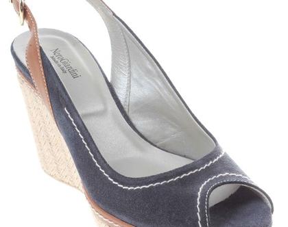 נעלים בצבע כחול NERO GIARDINI תוצרת איטליה