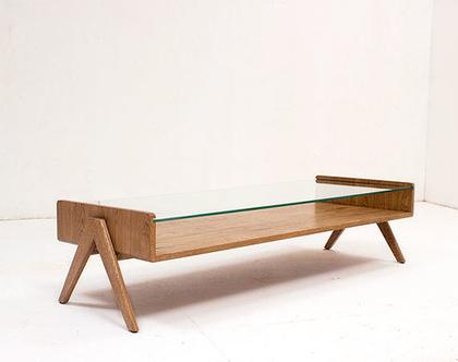 שולחן סלון VIGO אלון מעושן