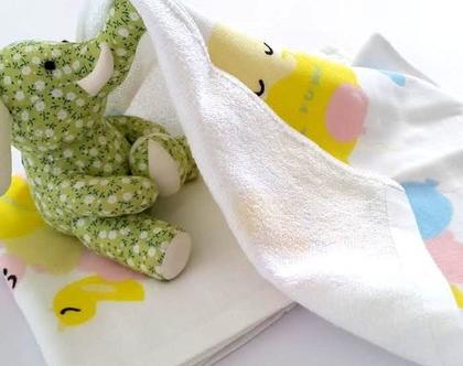 מגבות פנים לתינוק - זוג