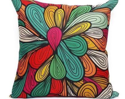 כרית נוי צבעונית Colors#