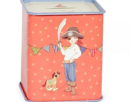 Birthday Surprise Tin Money Box