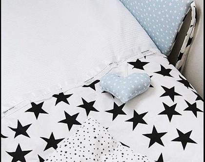 שמיכת כוכבים למיטת תינוק
