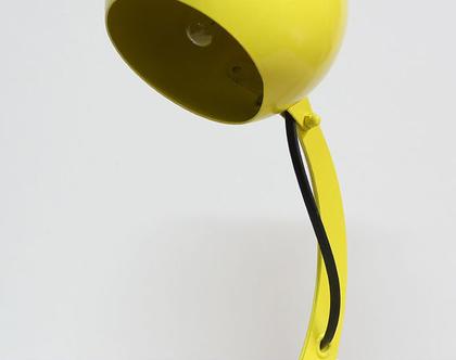 מנורת לילה וינטאג׳ צהובה