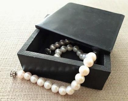 קופסת אבן שחורה לתכשיטים