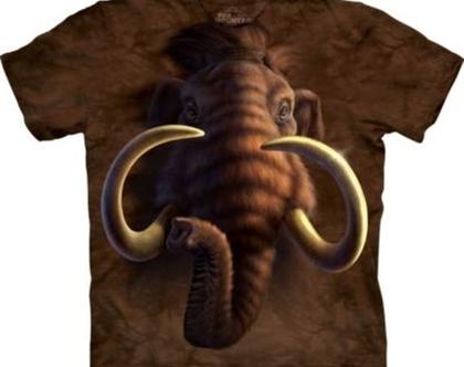 """חולצת Mammoth (ממותה ) של """"דה-מאונטיין"""" (ילדים)"""