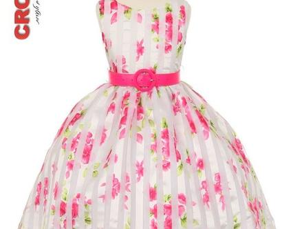 US שמלה ניל עם חגורה