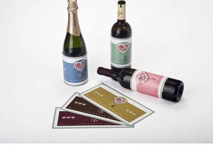 LOVE STYLE   מדבקות לבקבוקים לעיצוב שולחן