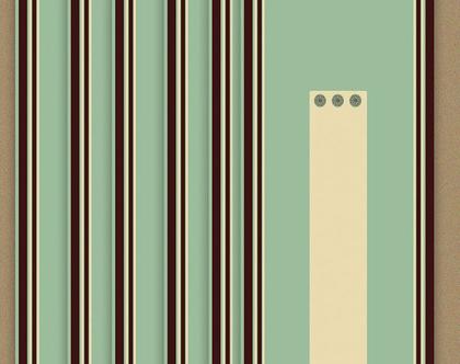 Trendy Mint   כרטיסי שמות לעיצוב שולחן