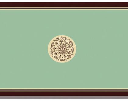 נייר אריזה: חינה מטבע ירוק   נייר עטיפה למתנה לכלה במסיבת רווקות   ניירות מתנה   ניירות אריזה