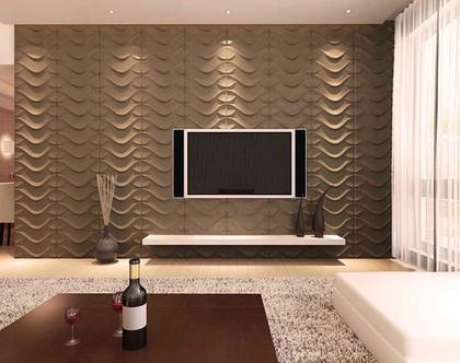 חיפוי קיר תלת מימד |חיפוי קירות | עיצוב קיר הסלון | אריחים לחיפוי מיוחד|glow 11
