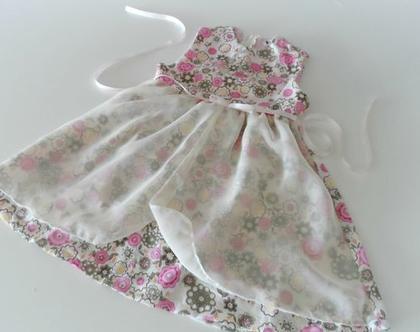 שמלת שיפון כותנה פרחונית לילדה שמלה לתינוקת עם חגורת סאטן * משלוח חינם*