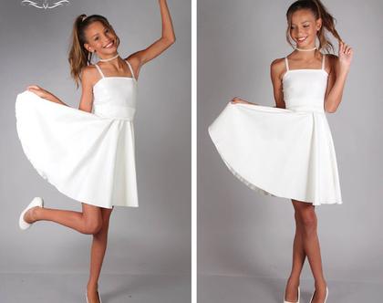 שמלת סטרפי לבת מצווה של המעצבת שירן סבוראי