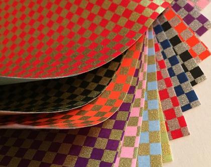 נייר אוריגמי   נייר יפני   סט ניירות   אוריגמי   נייר מעוצב