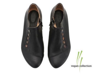 VEGAN גרייס שחורות - נעליים טבעוניות!