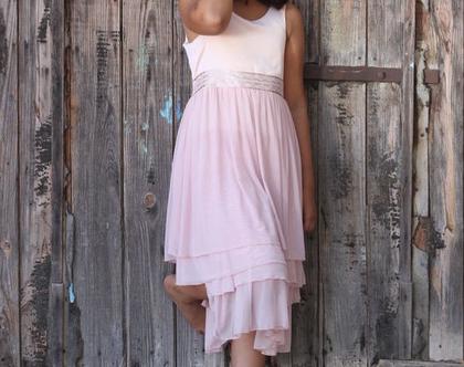 שמלת בת מצווה ורודה שמלת קומות לבת המצווה שמלה לארוע שמלה לשושבינה שמלת בת מצווש שמלות נומיקי