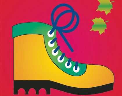 פלייסמנט לילדים ולבני הנעורים - נעל צבעונית ...