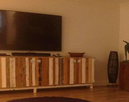 ארון לוחות עץ