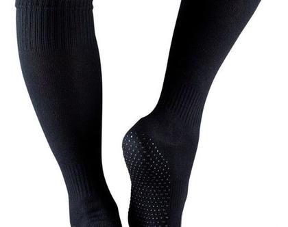 גרביים לפילאטיס ויוגה עד הברך, אצבעות שלמות-FULL TOE SCRUNCH KNEE HIGH GRIP SOCKS