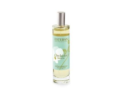 בושם   מפיץ ריח   esteban paris   מבשם לבית   orchidee blanche