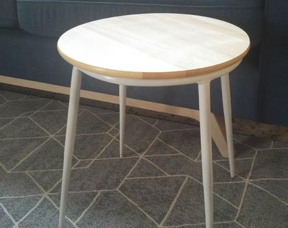 שולחן צד עגול