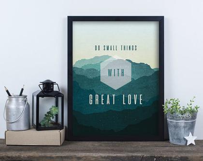 הדפס - דברים קטנים באהבה גדולה