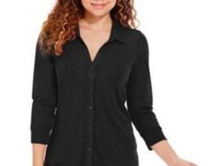 ALMOST FAMOS | חולצה שחורה