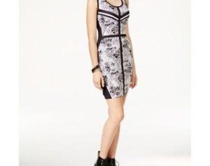 RAMAGE | שמלת מיני שחור/לבן