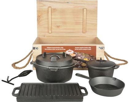 FF240 | ערכה לבישול בחוץ | אקססוריז לגינה | דקורציה | אווירה | גינה ומרפסת