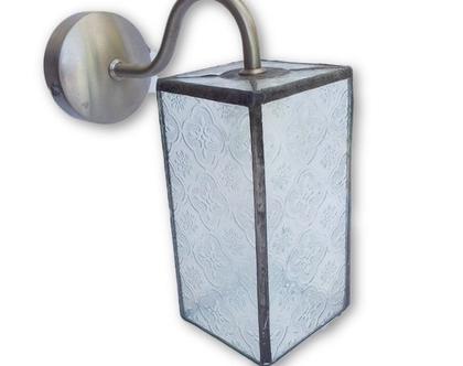 תאורה מעוצבת לקיר למטבח ופינת אוכל זכוכית סבתא נרוסטה.