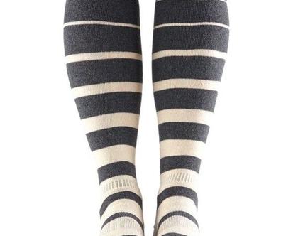גרביים עד הברך, מתחת למגף-CASUAL KNEE HIGH