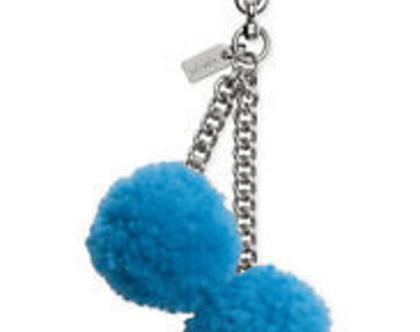 COACH | מחזיק מפתחות קואץ' כחול