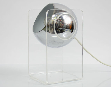 מנורת לילה איטלקית מעוצבת משנות השישים, מנורת לילה וינטאג׳