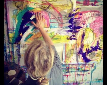 הסטודיו לציור אינטואיטיבי טרנספורמטיבי