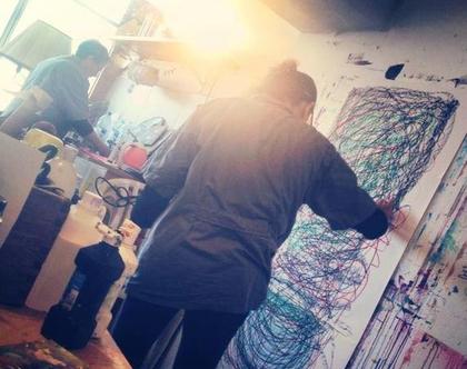 מפגשי ציור אינטואיטיבי טרנספורמטיבי עם ענבר רייך