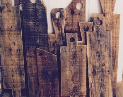 קרשי חיתוך מעץ ממוחזר