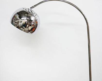 מנורת קשת וינטאג׳, מנורת רצפה וינטאג׳, מנורת רצפה טורקיז