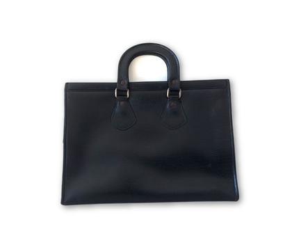 תיק וינטג׳ תיק שחור תיק גדול תיקים