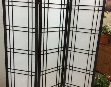 פרגוד יפני קלאסי שחור (המחיר לכנף)