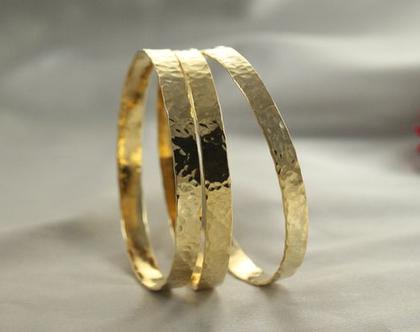 סט 3 צמידים זהב 21k | צמיד רקוע עדין | צמיד מיוחד | צמיד מרוקאי | צמיד זהב| צמיד זהב מרוקאי| 21 קראט |צמיד זהב לחינה| מחיר מ-ב-צ-ע !!!