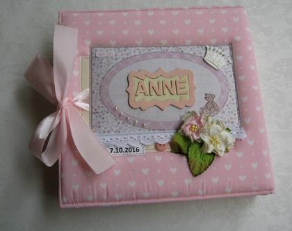 אלבום | מתנה לתינוקת דגם אנה