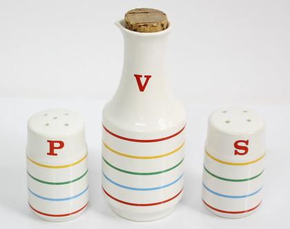 מלחיה, פלפליה ובקבוק לויניגרט, וינטאג' יפני