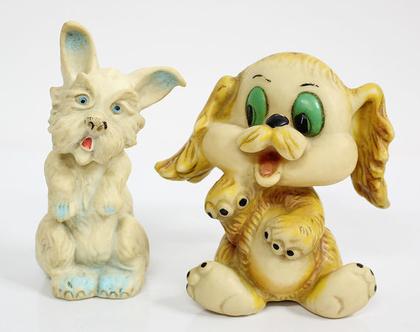 בובת כלב, בובות גומי וינטאג׳