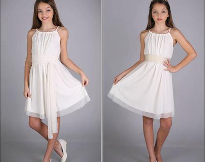 שמלת שרוך לבת מצווה של המעצבת שירן סבוראי