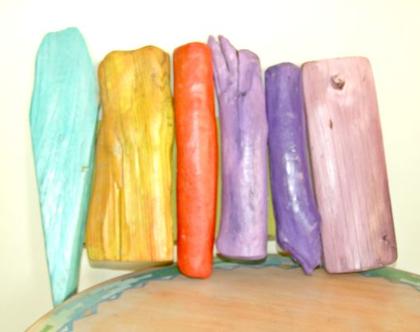 פסל קיר | עיצוב צבעוני לבית | פסל צבעוני | מתנה לבית |
