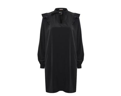 שמלת קולר שחורה
