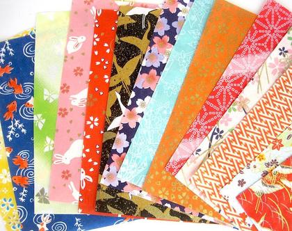 נייר אוריגמי קטן   נייר יפני   סט ניירות   אוריגמי   נייר מעוצב