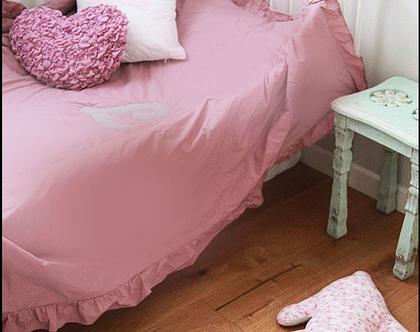 כיסוי מיטה מלמלה מסביב